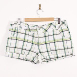 Illegal Weekend Plaid Shorts